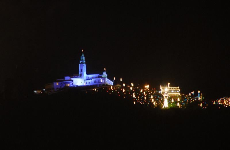 Nuestra Señora de la Cruz de Monserrate, Bogota...