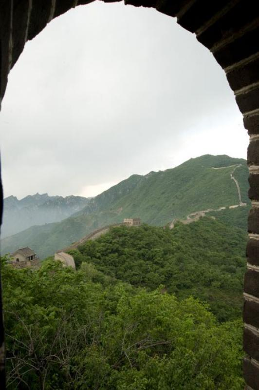 Gran Muralla China, Badaling, Beijing, China, Asia