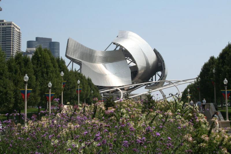 Pabellon Jay Pritzker, Chicago, Illinois, Estados ...