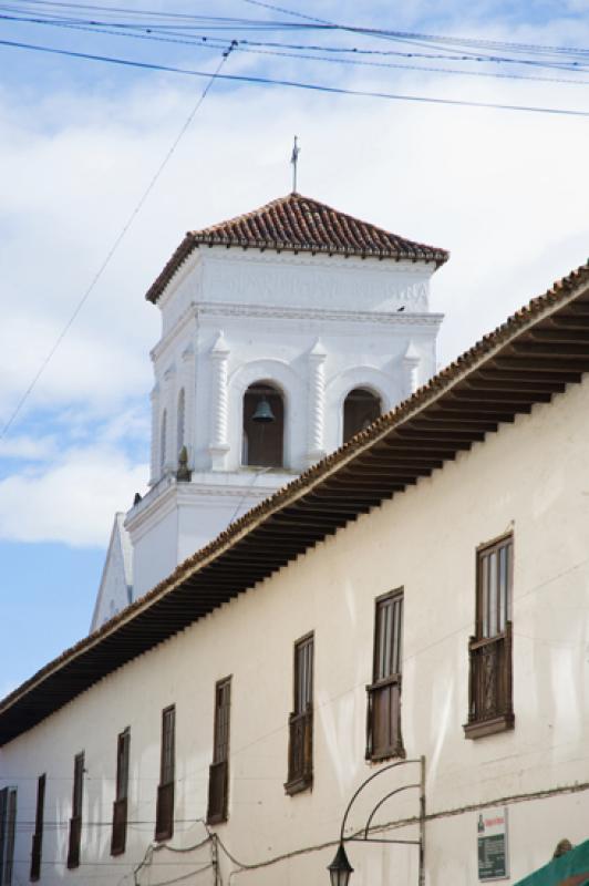 Iglesia San Ignacio, Tunja, Boyaca, Colombia