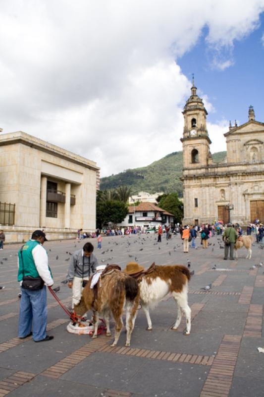 Plaza Bolivar, La Candelaria, Bogota, Cundinamarca...