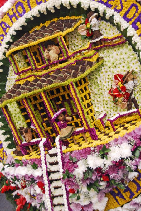 Desfile de Silleteros, Medellin, Antioquia, Colomb...