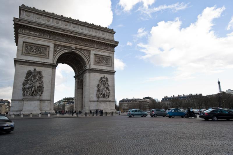 Arco de Triunfo, Paris, Francia, Europa Occidental