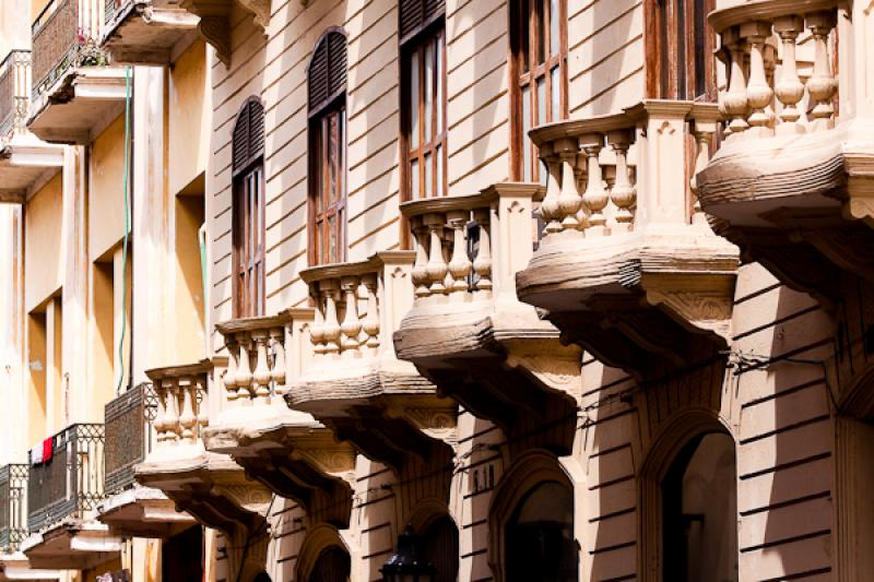 Arquitectura Colonial, Cartagena, Bolivar, Colombi...