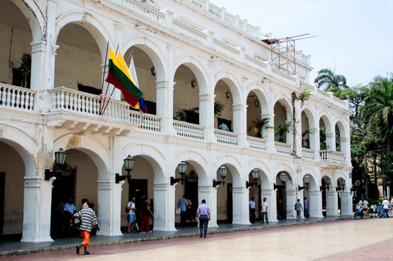 Plaza de la Proclamacion, Cartagena, Bolivar, Colo...