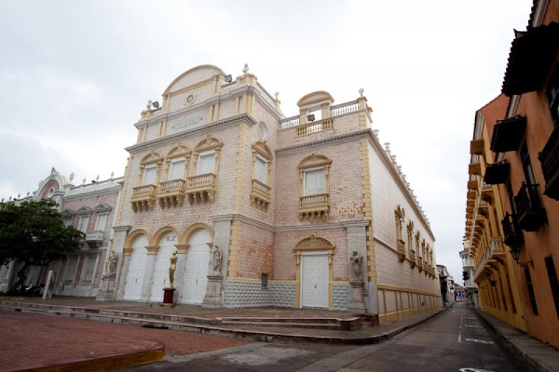 Teatro Heredia Adolfo Mejia, Cartagena, Bolivar, C...