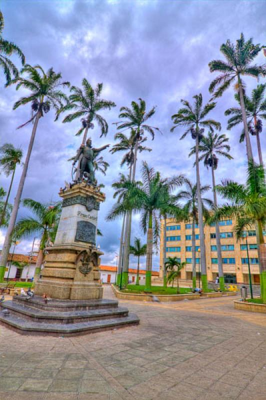 Parque Garcia Rovira, Bucaramanga, Santander, Colo...
