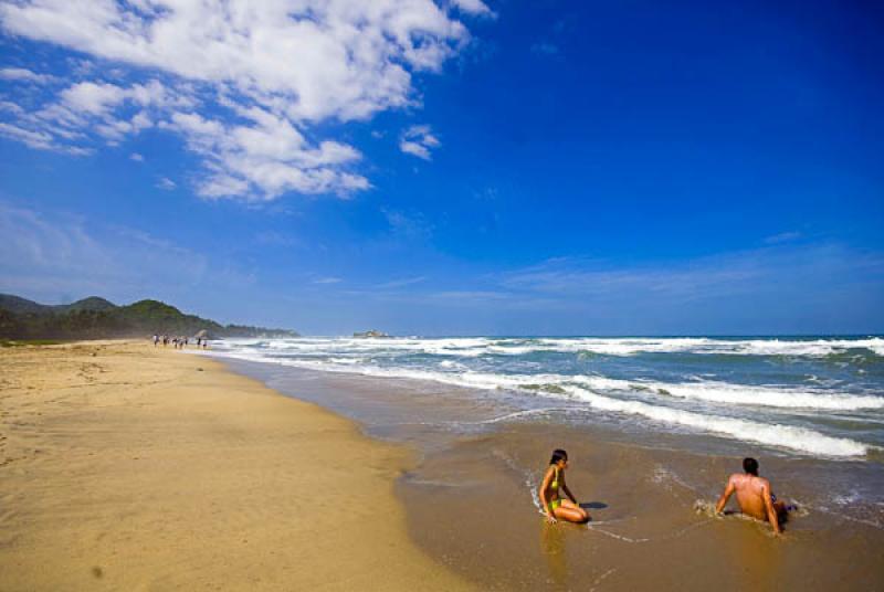 Playa Arrecife, Parque Nacional Natural Tayrona, S...