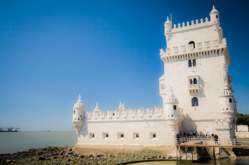 Torre de Belem, Lisboa, Portugal, Europa Occidenta...
