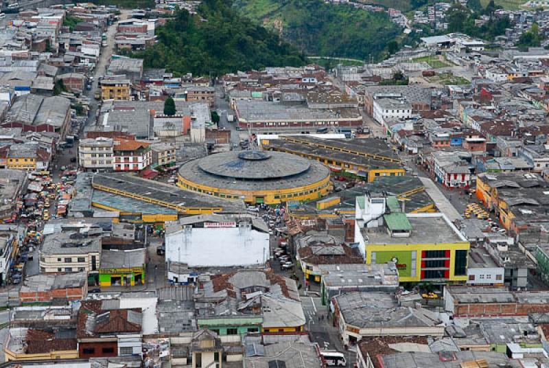 Panoramica de la Ciudad de Manizales, Caldas, Colo...