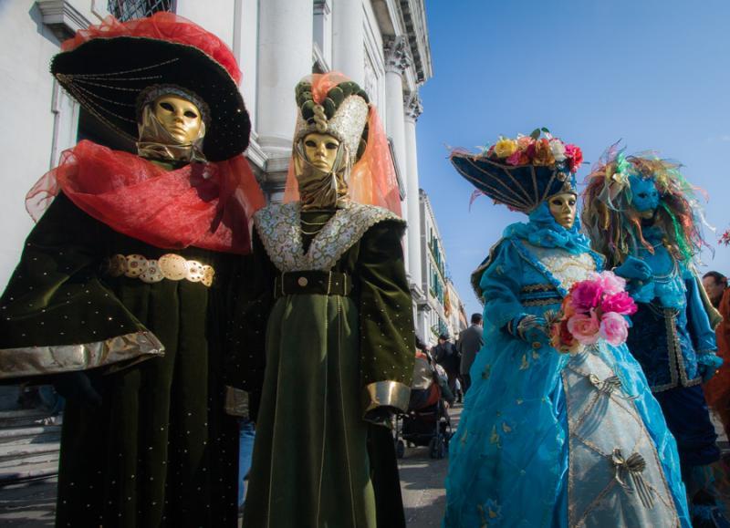 Carnaval Veneciano, Venecia, Veneto, Italia, Europ...