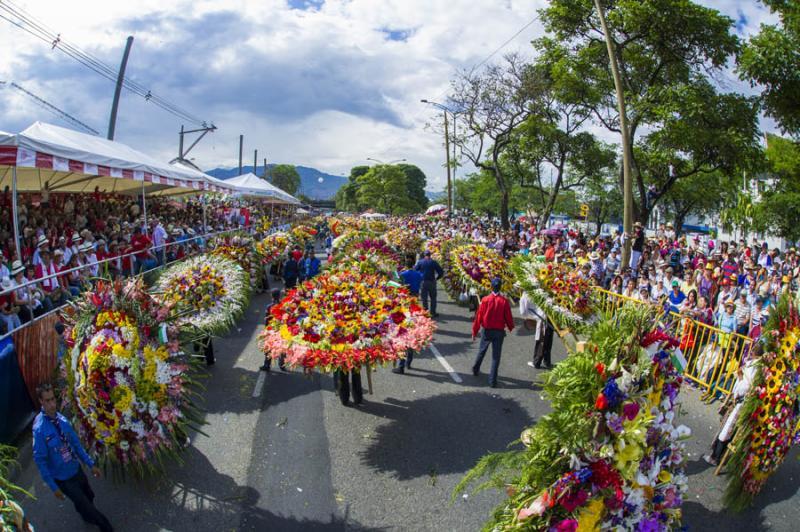 Desfile de Silleteros, Feria de las Flores, Medell...