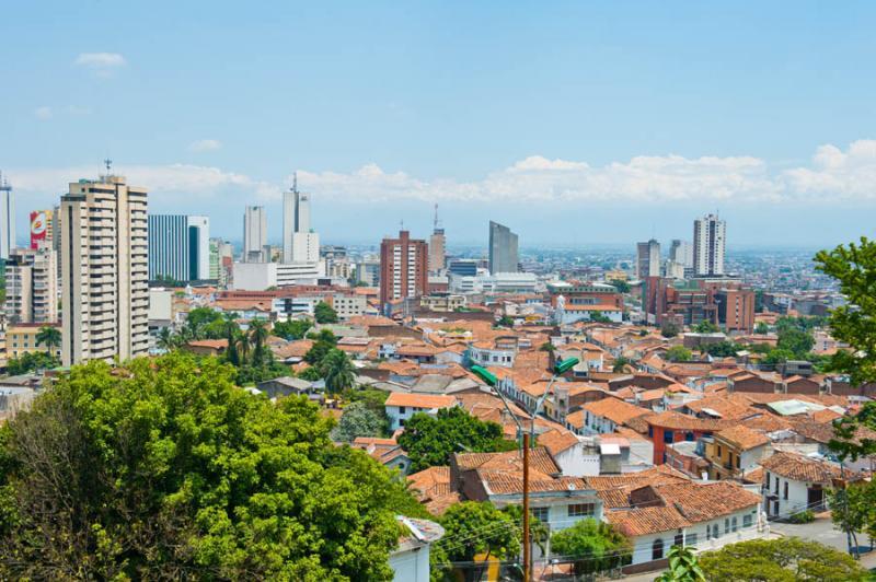 Panoramica de la Ciudad de Cali, Santiago de Cali,...