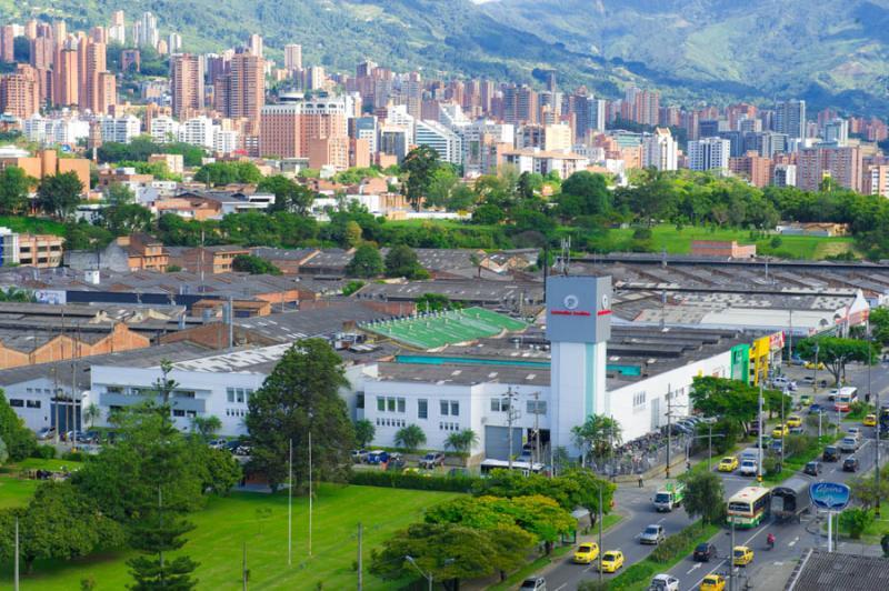 Panoramica de la Ciudad de Medellin, Antioquia, Co...