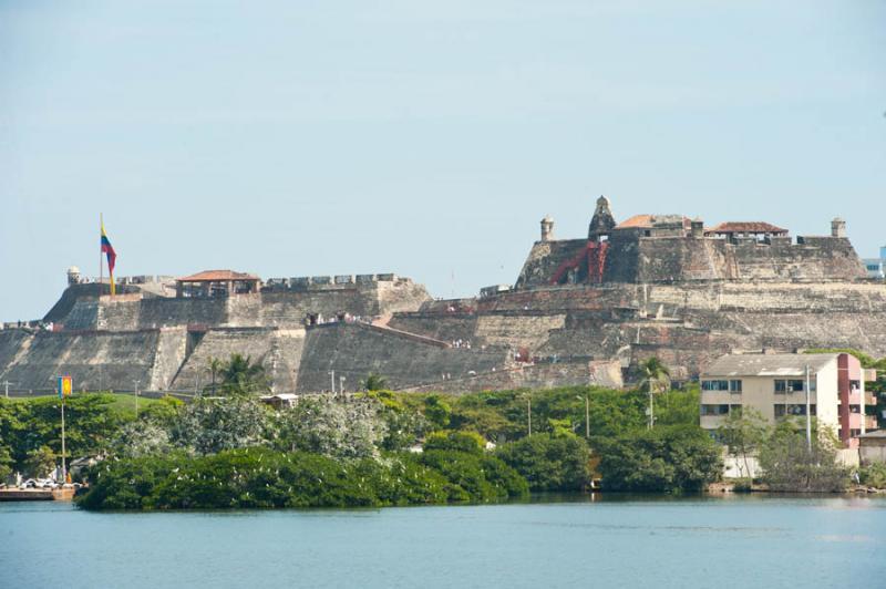 Castillo de San Felipe de Barajas, Cartagena, Boli...