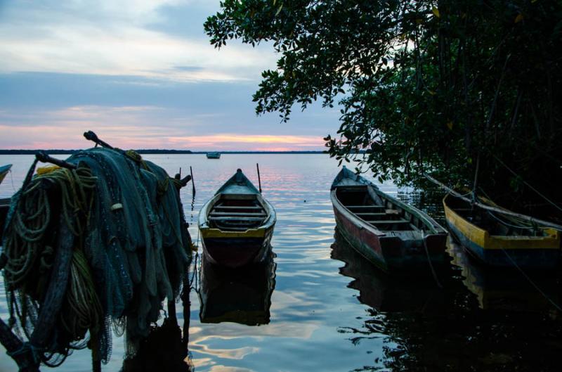 Atardece en Bahia de Cispata, San Antero, Cordoba,...