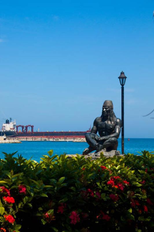 Homenaje a la Etnia Tayrona, Santa Marta, Magdalen...