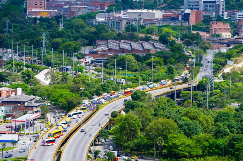 Panoramica de Medellin, Antioquia, Colombia