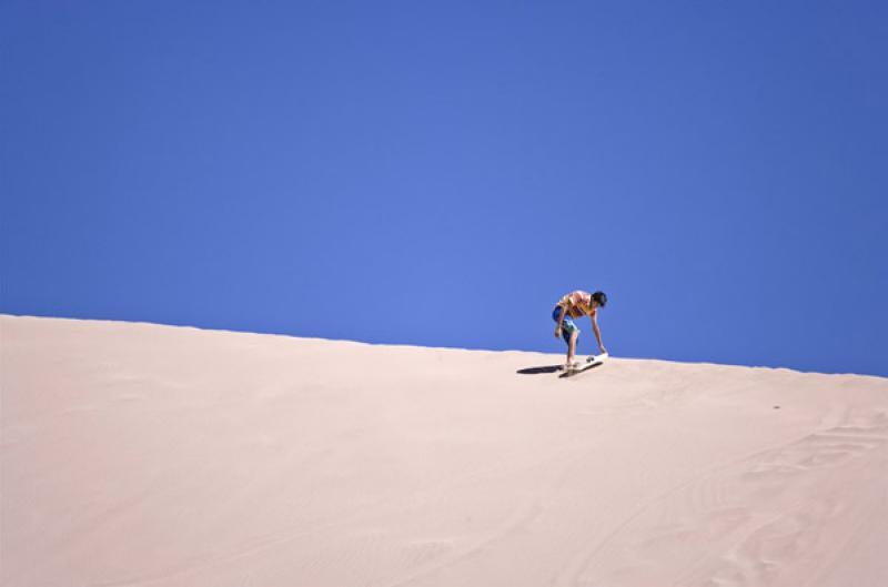 Sandboard en Valle de la Muerte, San Pedro de Atac...