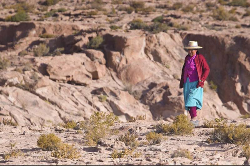 Indigena Mapuches, San Pedro de Atacama, Antofagas...