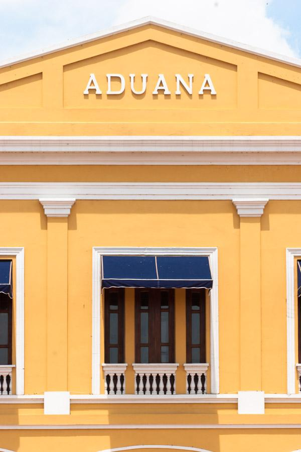 Edificio de la Aduana, Parque Cultural del Caribe,...