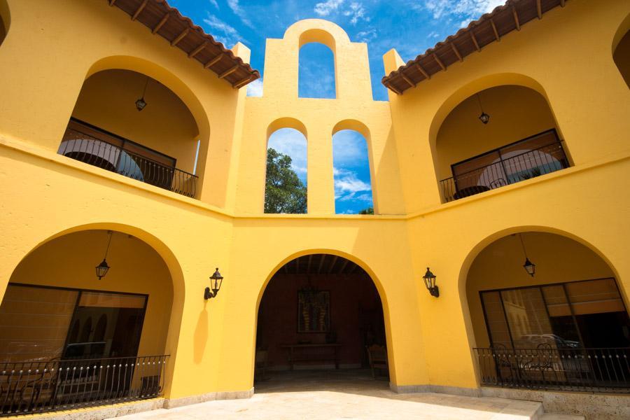 Campanario en el hotel Santa Fe Colonial, Santa Fe...