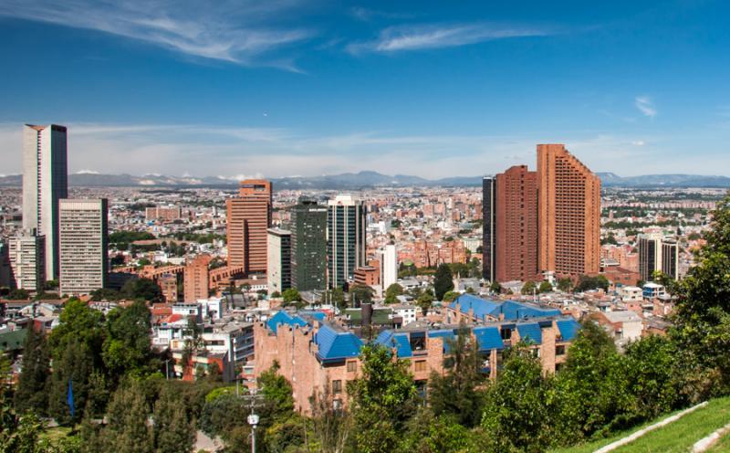 Panoramica de la Ciudad de Bogota, Cundinamarca, C...
