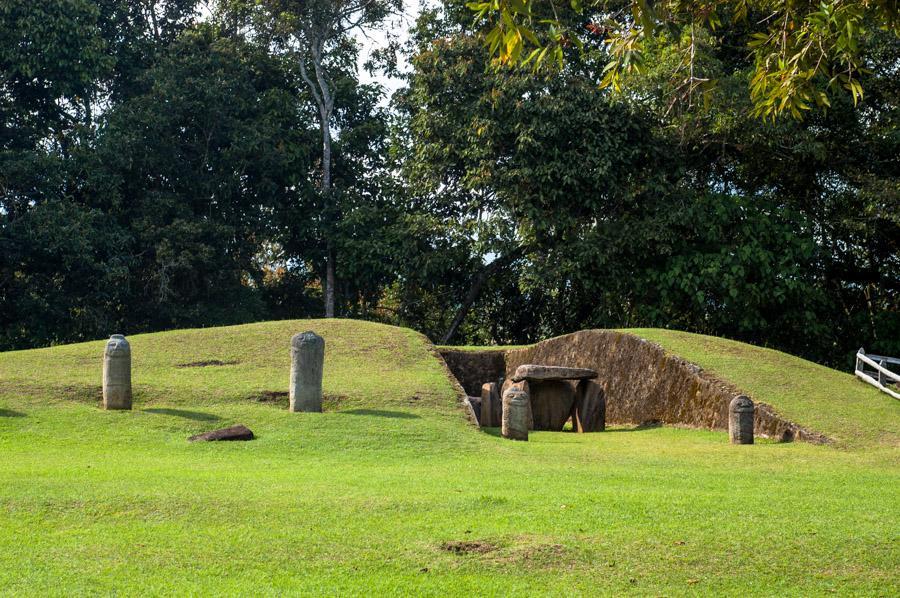Parque Arqueologico de San Agustin, Huila, Colombi...