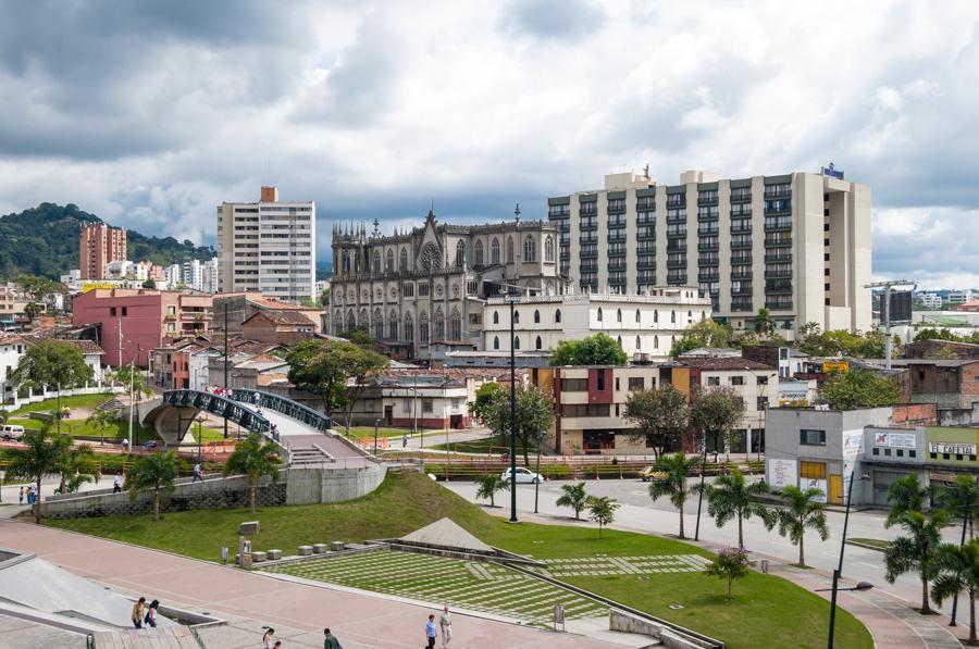 Panoramica del Parque en Pereira, Risaralda, Colom...