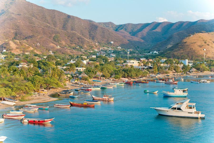 Bahia Taganga, Taganga, Santa Marta, Magdalena, Co...