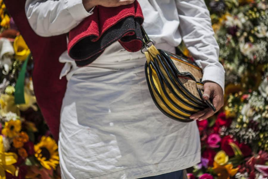 Detalle De Un Carriel, Desfile de Silleteros, Feri...