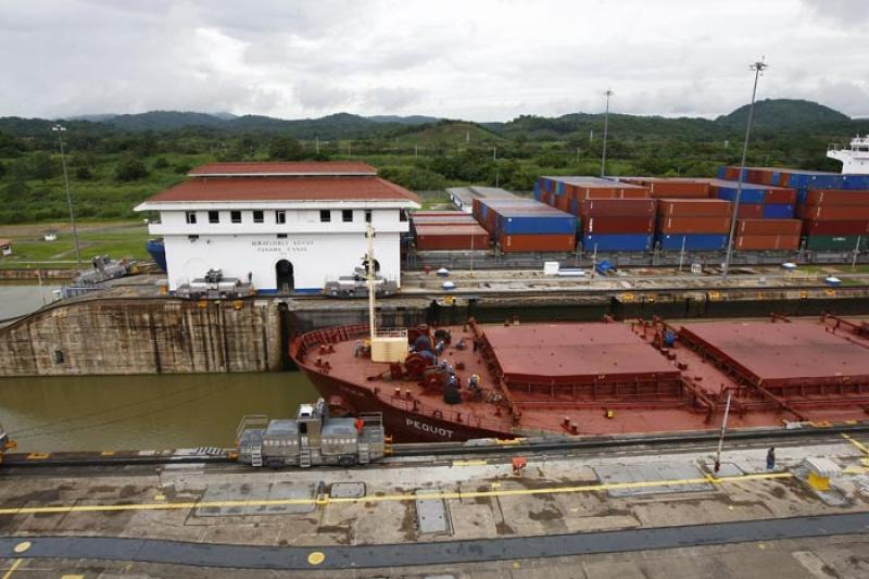 Miraflores Locks, Canal de Panama, Panama, America...